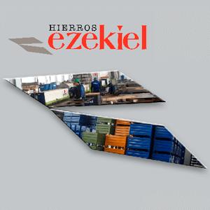 logotipo de HIERROS EZEQUIEL SL